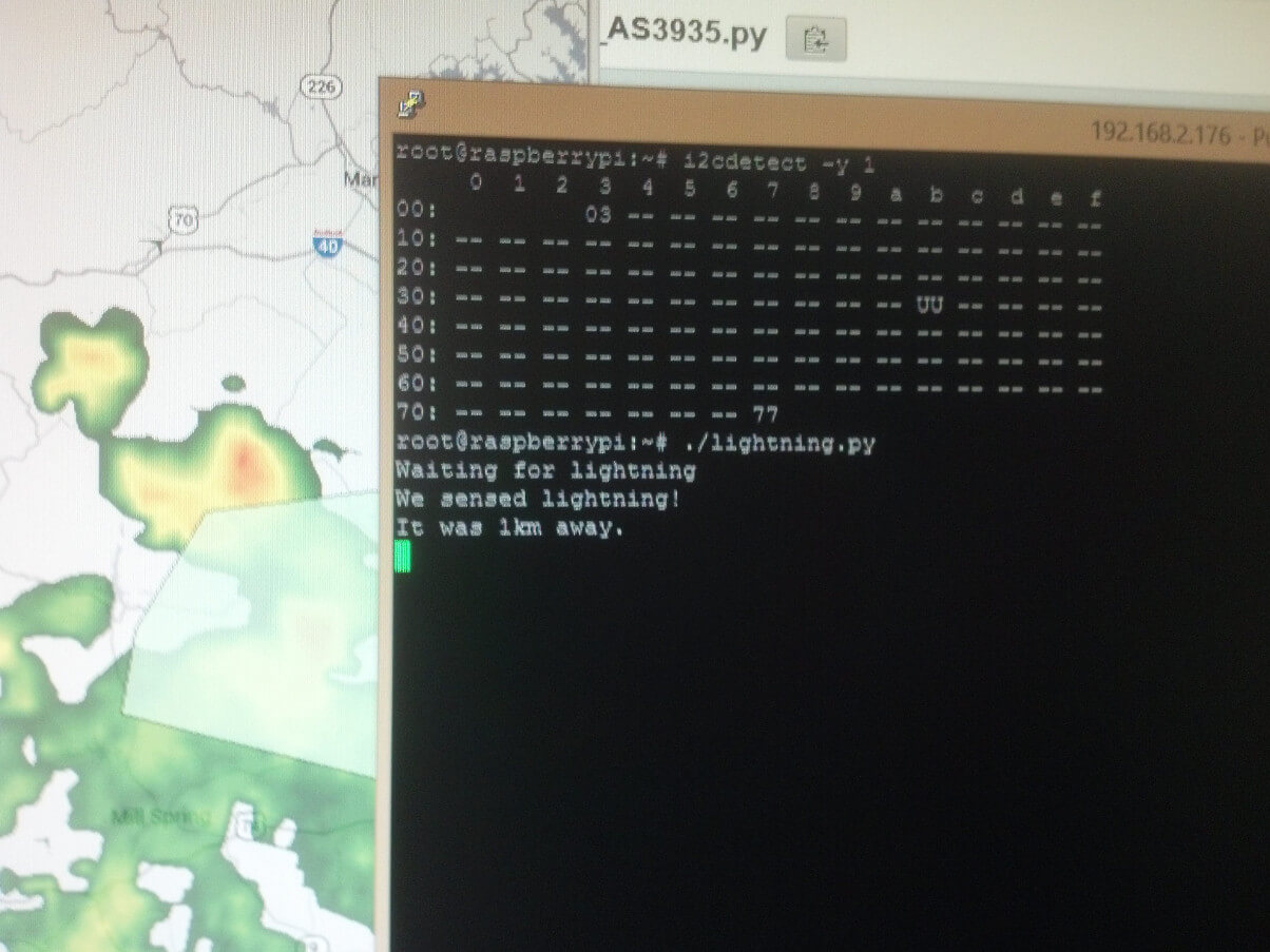Detecting Lightning With A Raspberry Pi Coffee Robots Wiringpi Python Interrupts Mod1016 Working